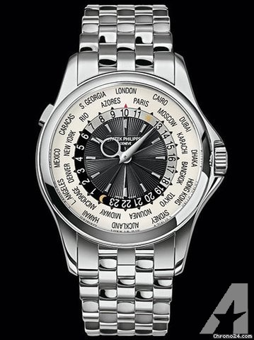 Patek Philippe 5130/1G World Time Complications White