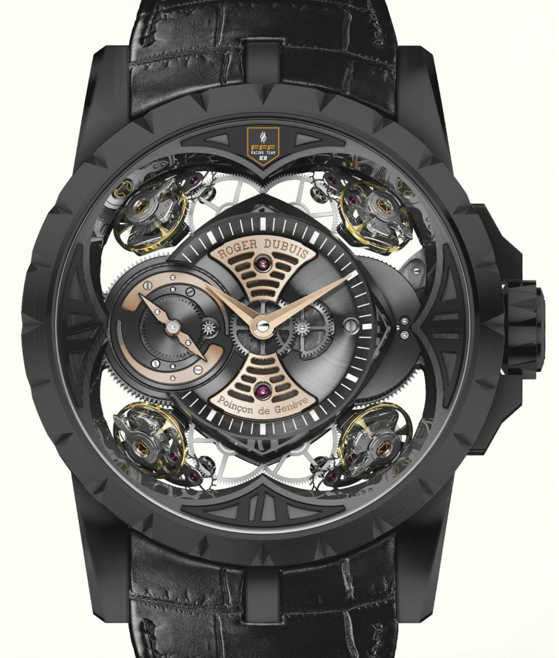 Roger Dubuis Excalibur Quatuor FFF Racing Team Watch Watch Releases