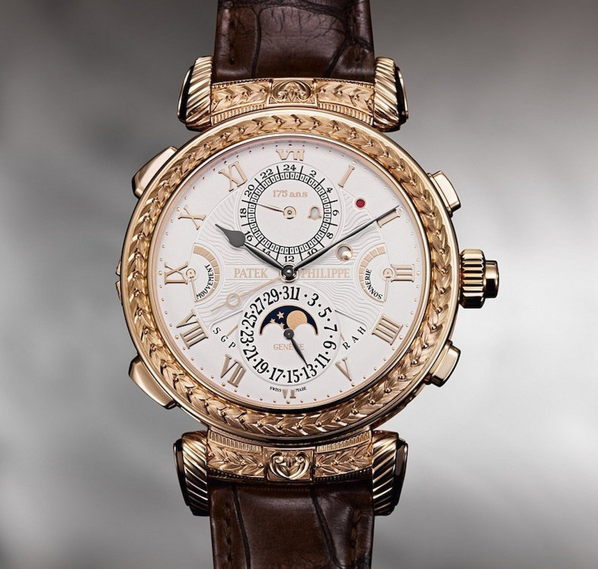 f87d4a49dfd Patek Philippe Grandmaster Chime 5175 Watch For 175th Brand Anniversary  Watch Releases