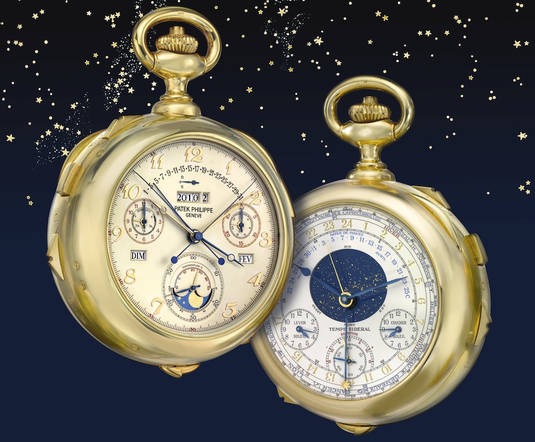 Patek Philippe Caliber 89 Grand Complication Pocket Watch Fails To Sell At Geneva Watch Auction Sales & Auctions
