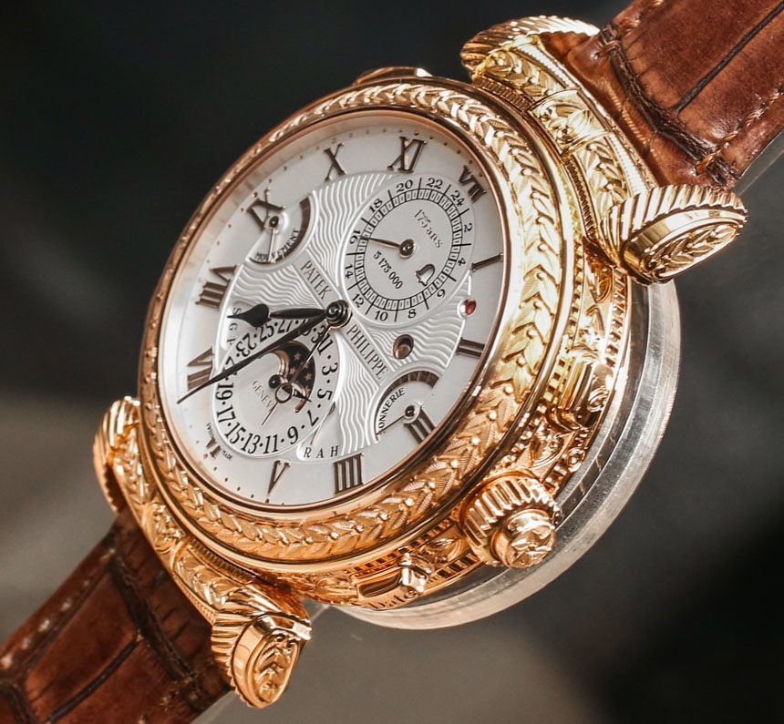 Thoughts On Seeing The $2.6 Million Patek Philippe Complicated Timepieces Replica Grandmaster Chime 5175 Watch In The Flesh Hands-On