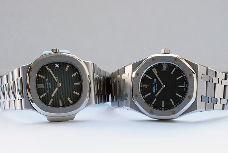AP Royal Oak 15202 Patek Philippe Nautilus