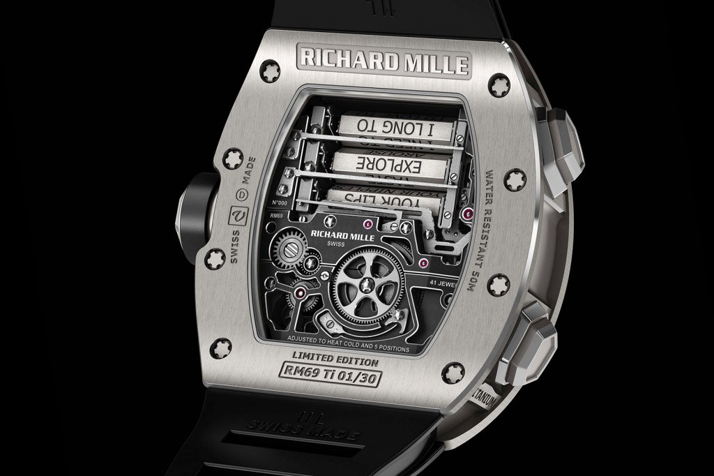 Richard Mille RM 69 Erotic Tourbillon 1
