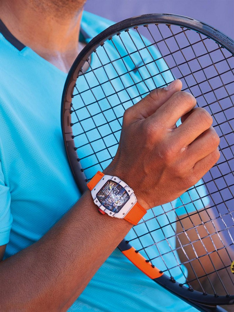 Limited Edition Richard Mille Tourbillon RM 27-02 Rafael Nadal