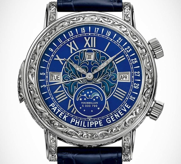 Patek Philippe Sky Moon Tourbillon 6002G Watch Releases