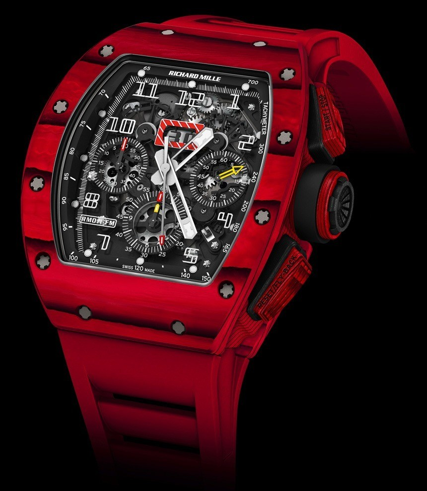 Richard-Mille-RM-011-Red-TPT-Quartz-watch
